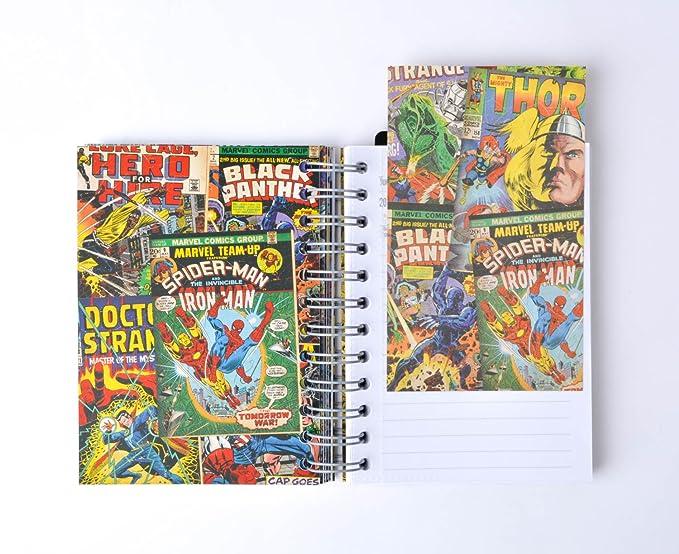 Grupo Erik Editores Marvel- Agenda escolar 2018-2019 día página multilingüe, 11.4 x 16 cm