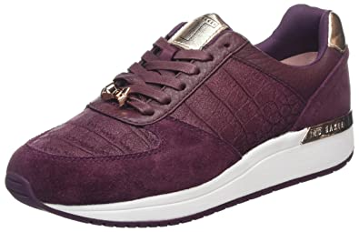 Ted Baker Kapaar, Baskets Femme, Violet (Purple), 39 EU
