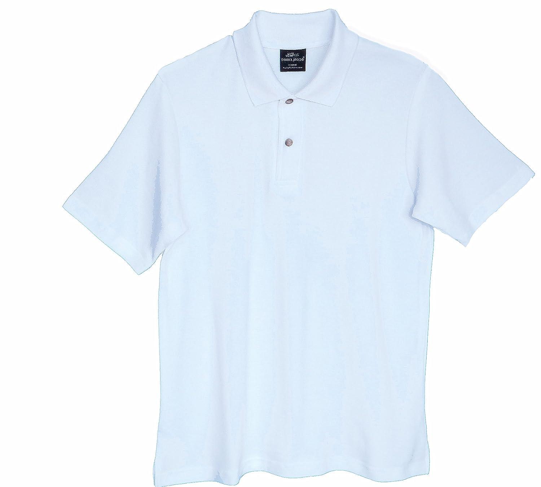 Daniel Jacob Big Boys Husky Polo Shirt Short Sleeve