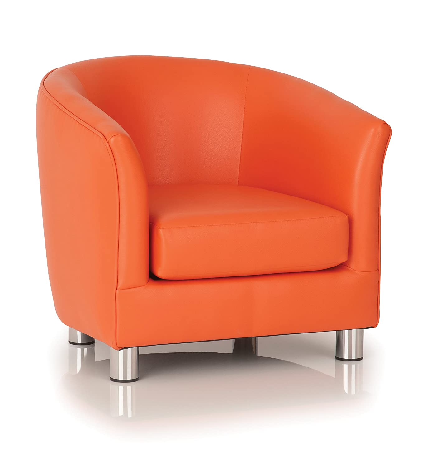 The School Furniture Co Childrens Tub Chairs - Kiddietubbies Orange ...
