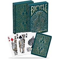 FOURNIER 1042051 Bisiklet Aureo Poker Oyun Kartları, Siyah ve Altın