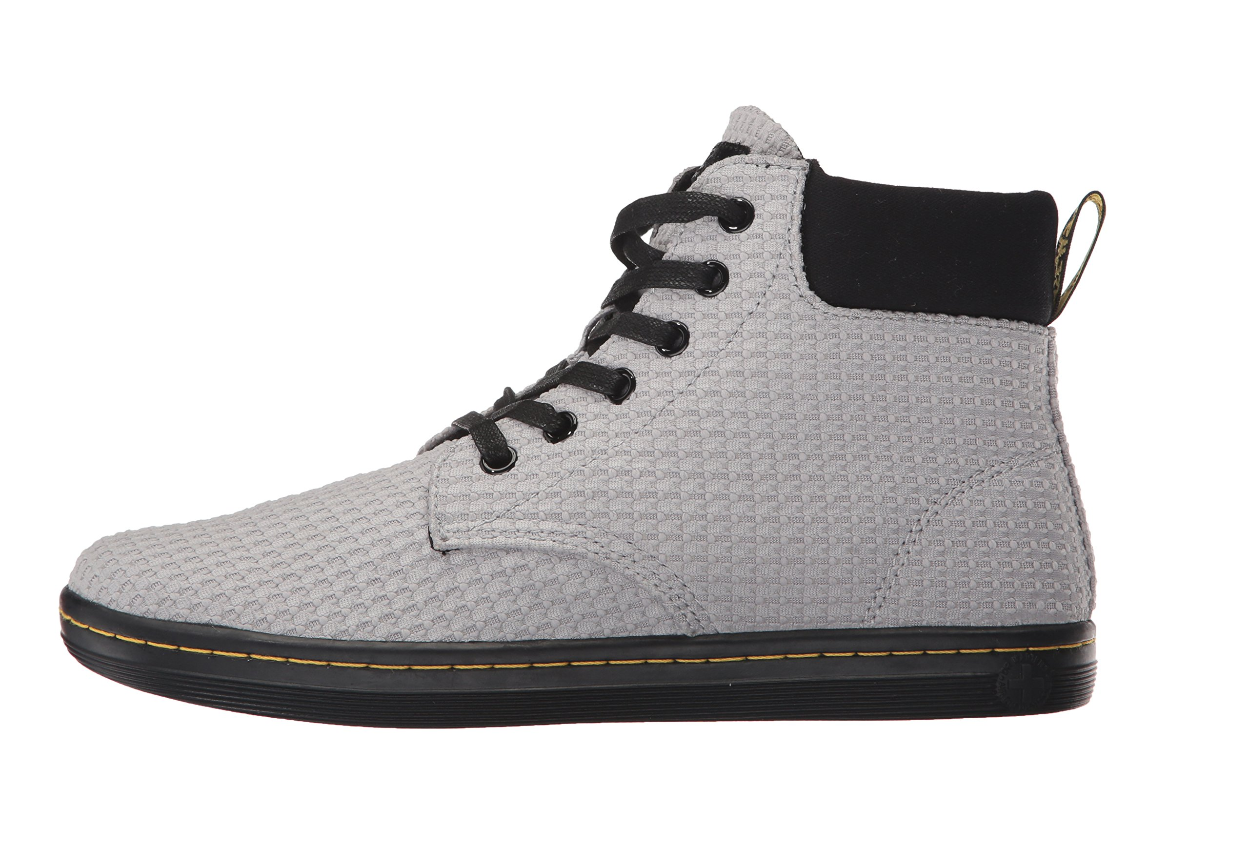 Dr. Martens Women's Maelly WC Fashion Boot, Mid Grey+Black Waffle Cotton+Fine Canvas, 8 Medium UK (10 US) by Dr. Martens (Image #5)