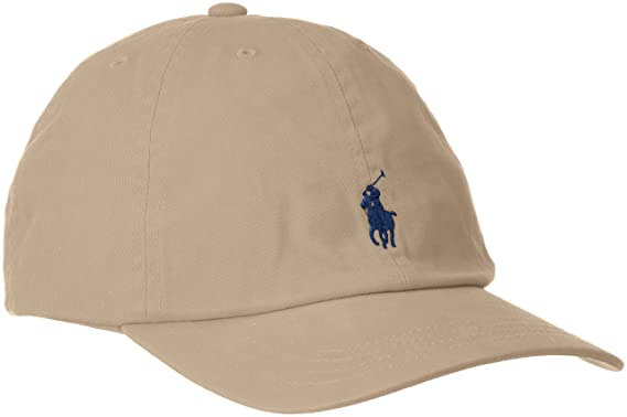 3a90732f Polo Ralph Lauren Boys Classic Pony Logo Hat (2T-4T Toddler, Khaki)