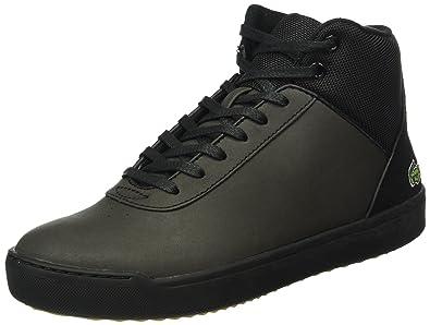 dc9d2ee7c468f Lacoste Women s Explorateur Ankle 316 2 Low-Top Sneakers Black Size ...