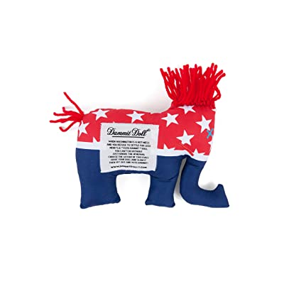 Dammit Doll - Vote ELE - Red, White & Blue - Stress Relief - Gag Gift - Political Party: Toys & Games