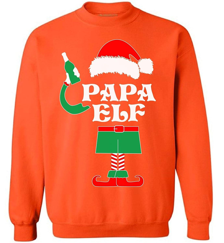 Awkward Styles Papa Elf Sweatshirt Elf Christmas Sweater Ugly Christmas Elf