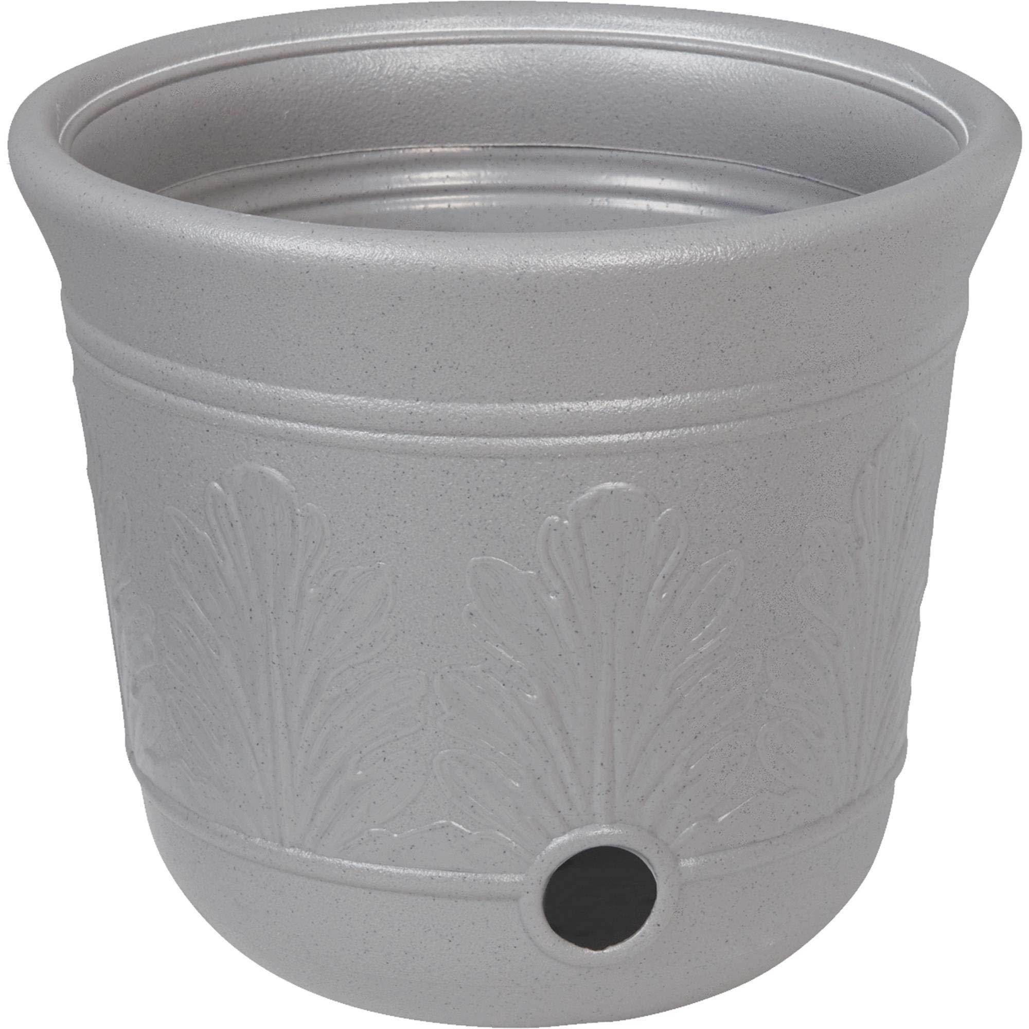 Suncast CPLHPL100 5 Gallon Hose Pot, Gray