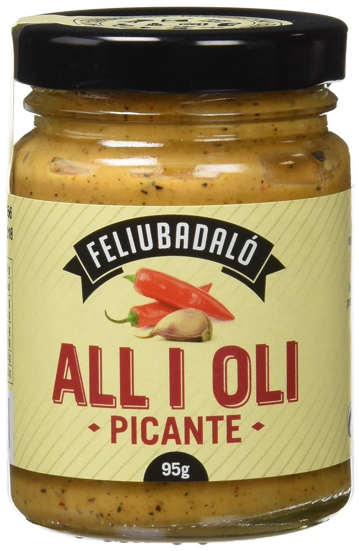 Feliubadalo Salsa Allioli Picante - 95 gr - [Pack de 3]: Amazon.es: Alimentación y bebidas