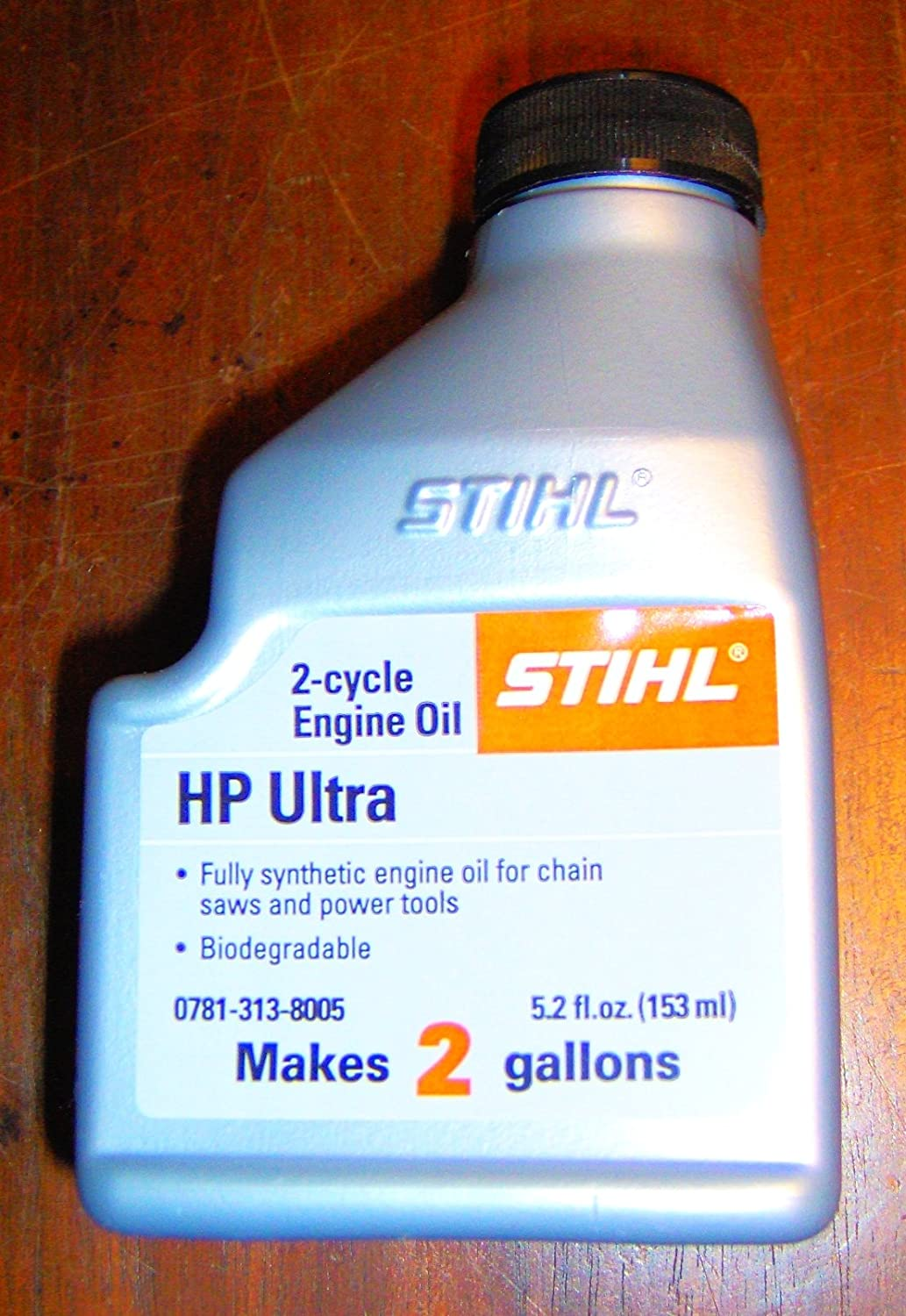 Stihl HP Ultra 2 Cycle Engine Synthetic Oil 2 Gal Mix - 1 Bottle