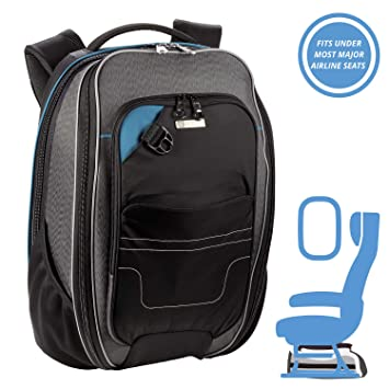 b14e4ab9df56 ONboard Underseat Carry-On Backpack + RFID Protection System Anti-Theft  Security For Travel