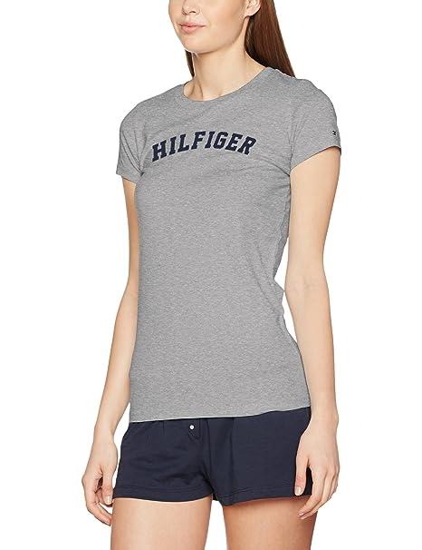 Tommy Hilfiger SS tee Print, Top de Pijama para Mujer: Amazon.es: Ropa y accesorios