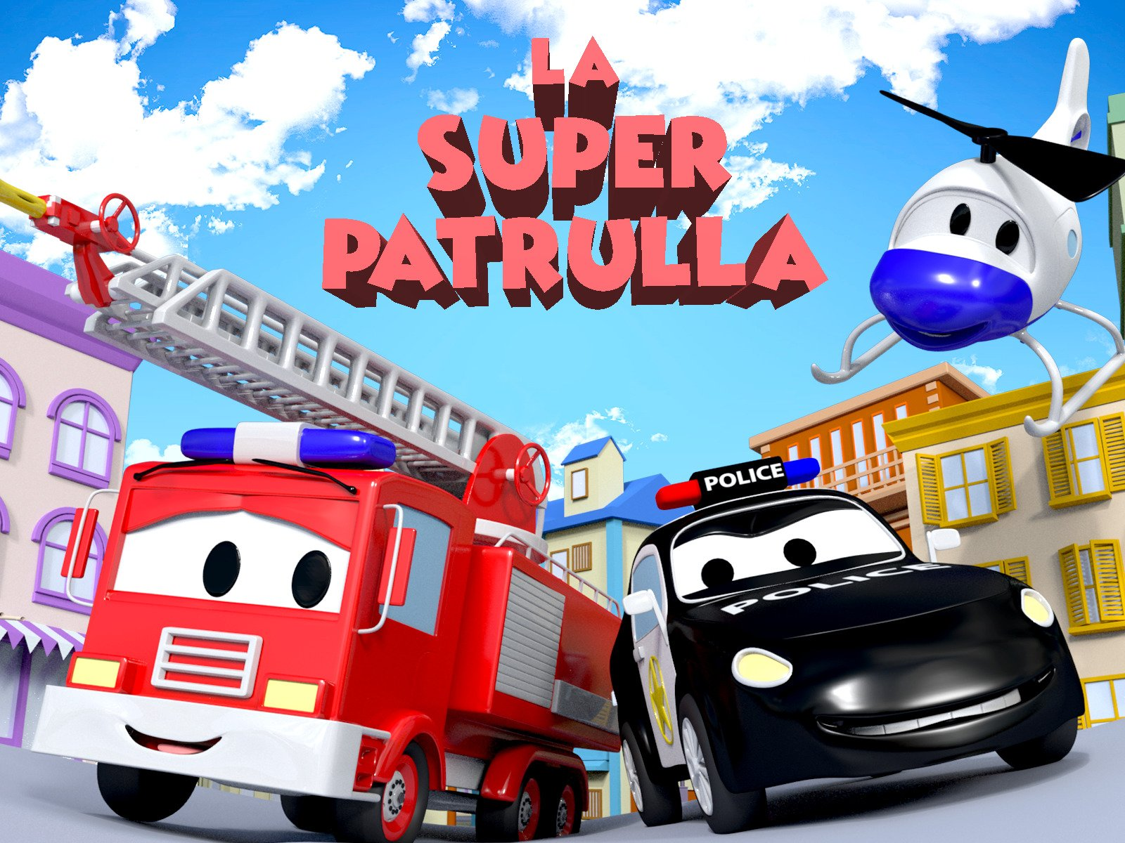 Amazon.com: Watch La Super Patrulla en Auto City   Prime Video