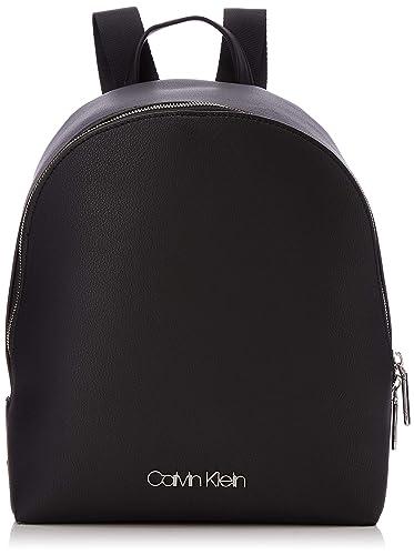 1fbca89de0 Calvin Klein Snap Sml Backpack, Sacs à dos femme, Noir (Black ...