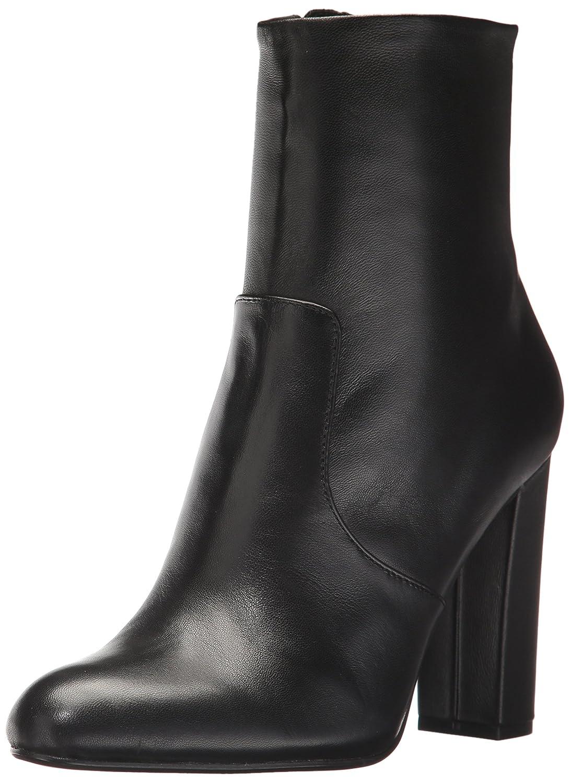 Steve Madden Women's Editor Ankle Boot B073H99S95 9 B(M) US|Black Leather