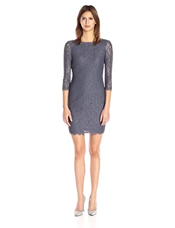 267a54c5 Amazon.com: Adrianna Papell Women's Lace Sheath Dress: Clothing