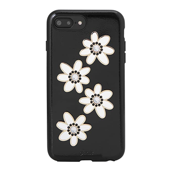 official photos 67bd1 4b16f Sonix OPAL DAISY Patent Leather Phone Case w/ Authentic Swarovski Crystal  Embellishments - Drop Test Certified - Sonix Patent Leather Case for Apple  ...
