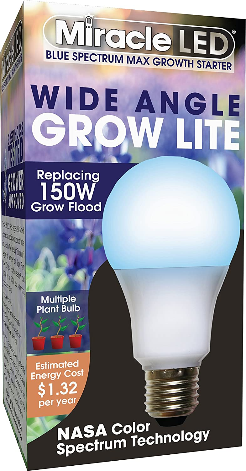 Blue MiracleLED 604605 150W Multi-Plant Grow Light 4-Pack