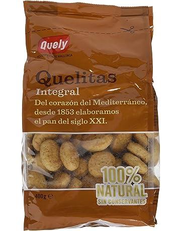 Quely, Crackers salado de agua (Quelitas integral) - 7 de 400 gr.