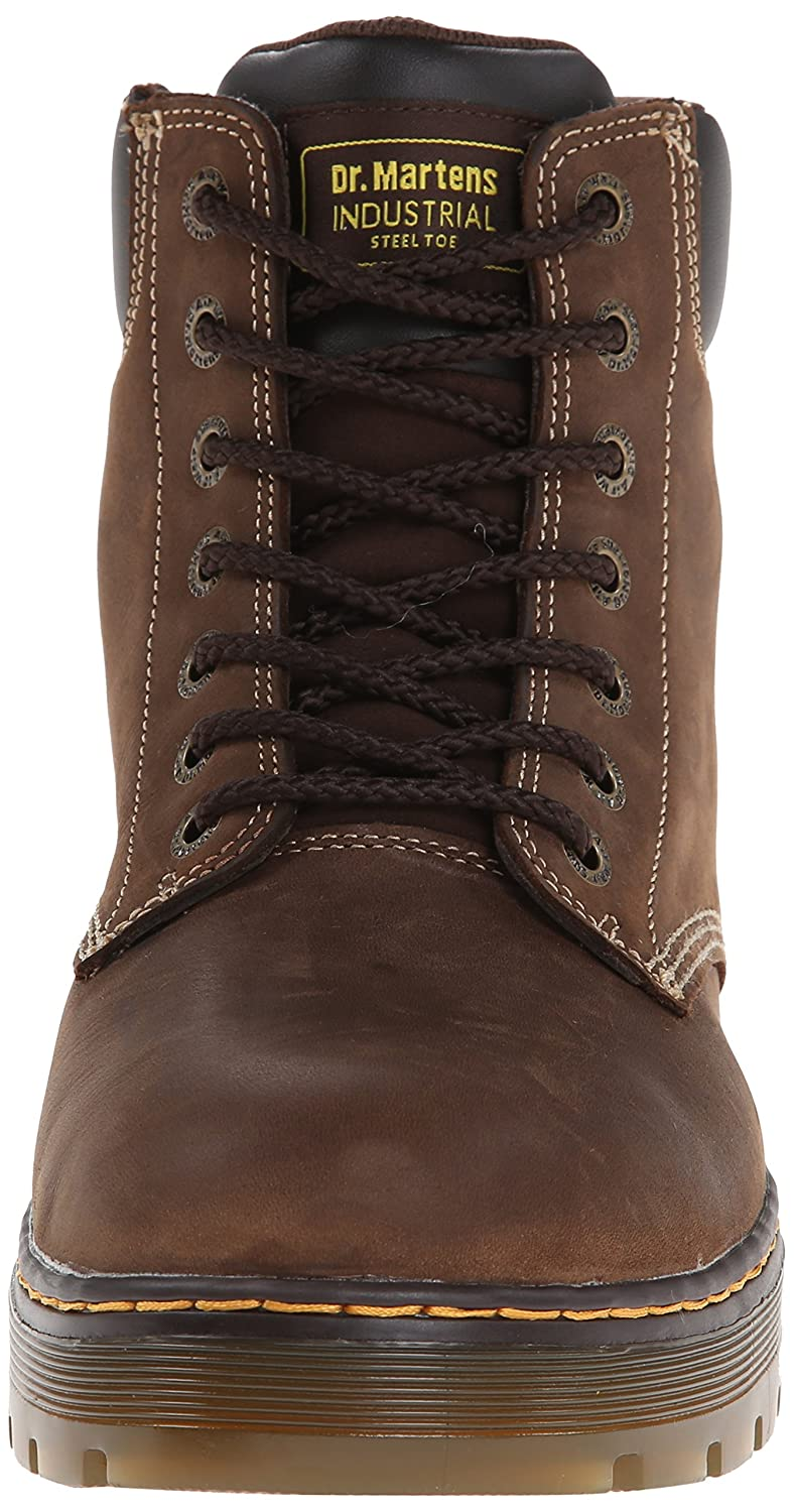 f6418a4a358 Dr. Martens Men's Winch 7-Eye Cushion Safety Toe Boot