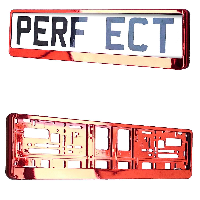 CHROME Car Registration License Number Plate Surrounds Holder Frame ALL STYLES