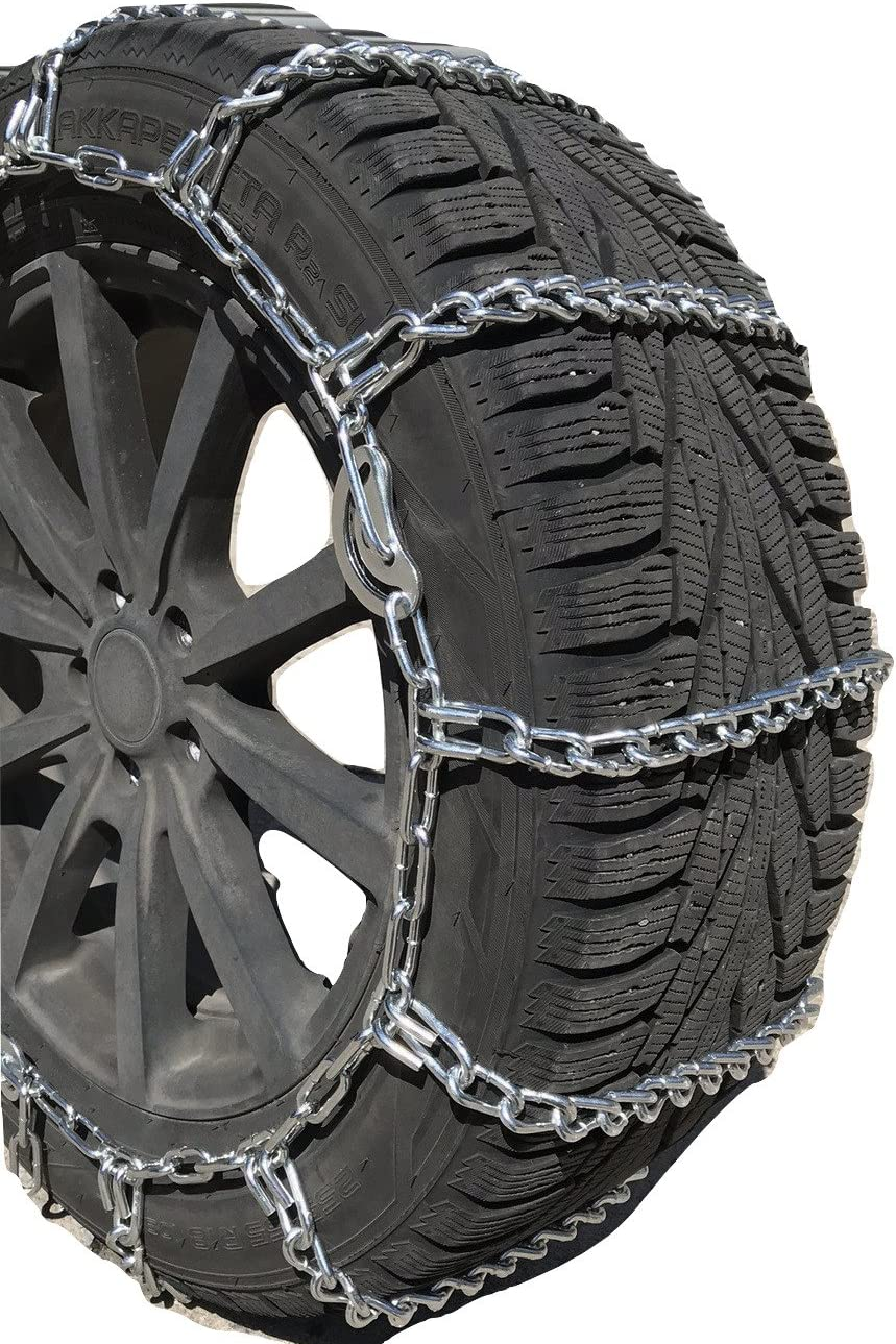 TireChain.com P205//55R16 P205//55 16 ONORM Diamond Tire Chains Set of 2