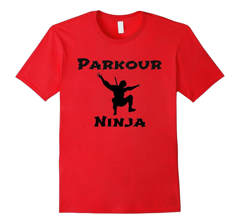 Parkour Ninja Free Running Traceur T-Shirt-Vaci