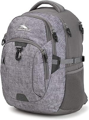 High Sierra Jarvis Laptop Backpack, Woolly Weave/Slate, One Size