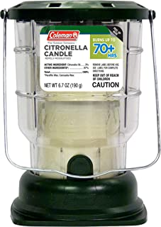 product image for Coleman 70+ Hour Citronella Candle Outdoor Lantern - 6.7 oz