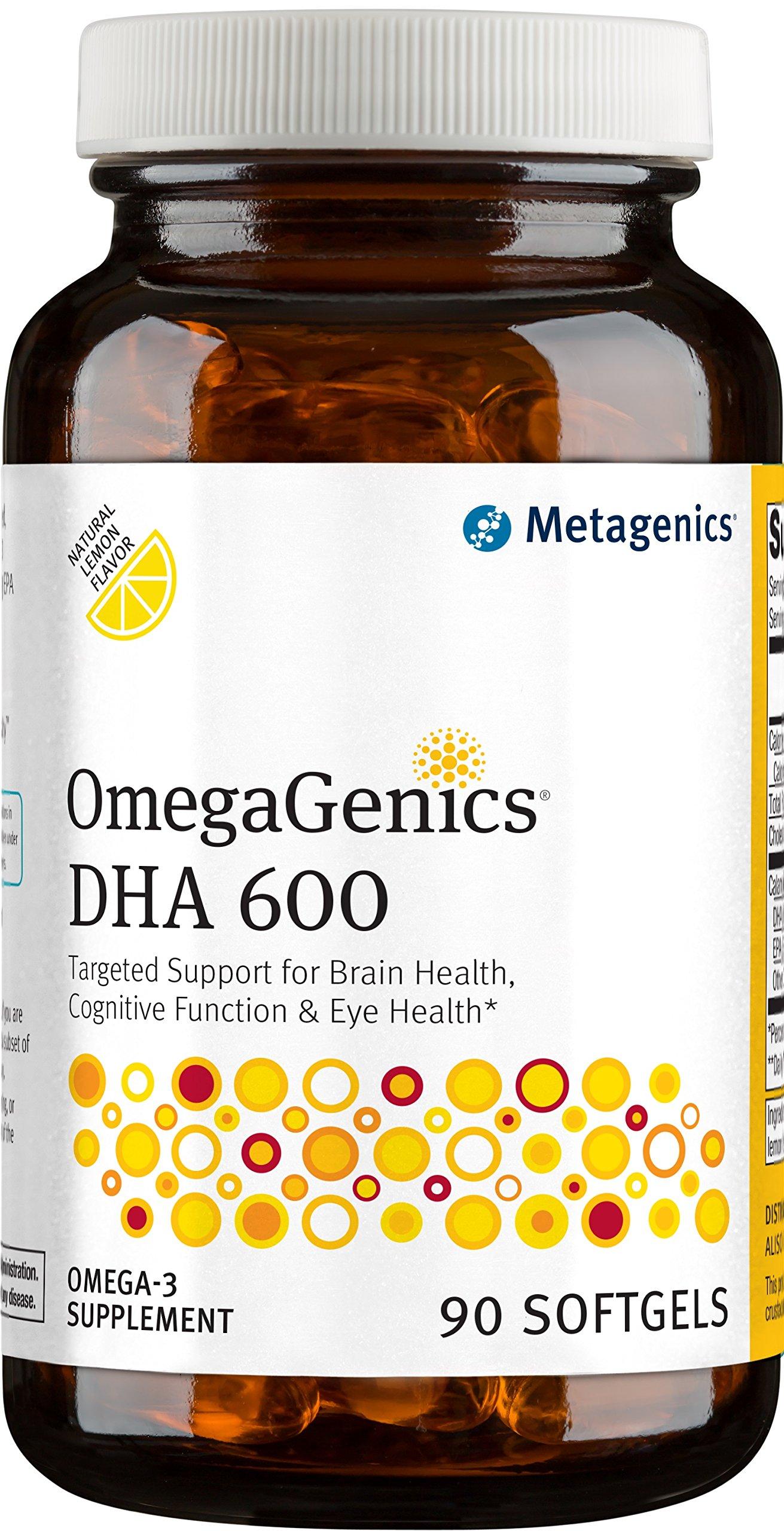Metagenics - OmegaGenics DHA 600, 90 Count by Metagenics