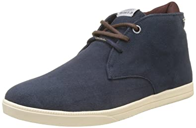 London Jayden Cordura, Baskets Hautes Homme, Bleu (Marine), 44 EUPepe Jeans London