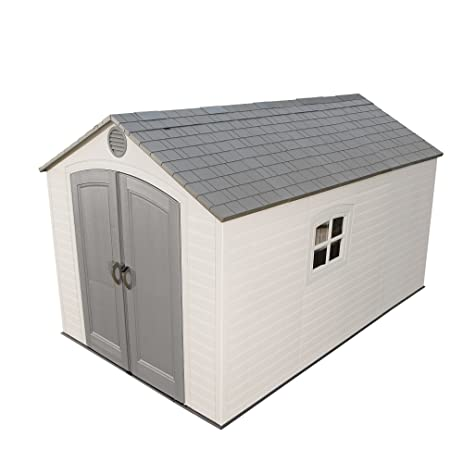 lifetime 6402 outdoor storage shed 8 by 125 feet 2 windows - Garden Sheds 3 Feet Wide