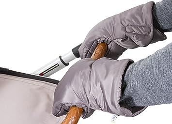 BAMBINIWELT Kinderwagen Muff Kinderwagenhandschuh Handwärmer STERNE BAUMWOLLE