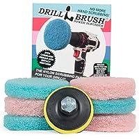 Drillbrush Poder Scumbusting esponjillas Baño superficie de las