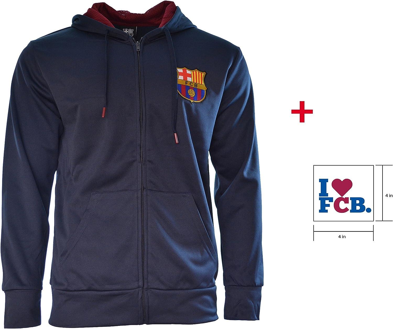 HKY FC Barcelona Jacket Windbreaker Official Licensed Soccer Football New Season FCB WB03