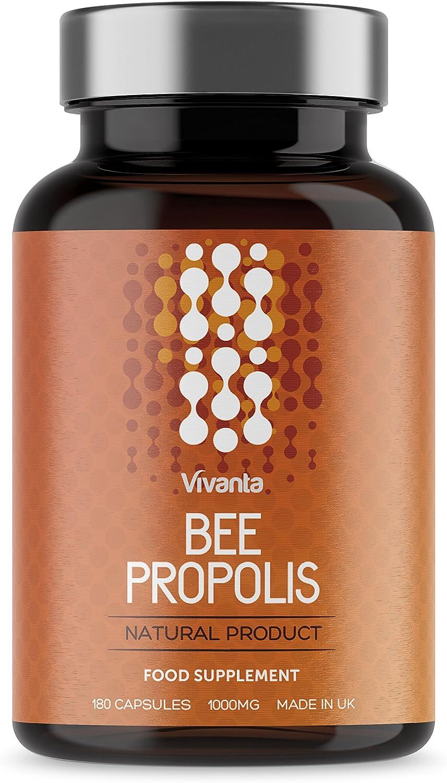 Bee Própolis - Propóleo de abeja - 1000 mg x 180 cápsulas