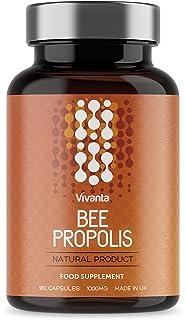 Bee Própolis - Propóleo de abeja - 1000 mg x 180 cápsulas | Suministro de 6