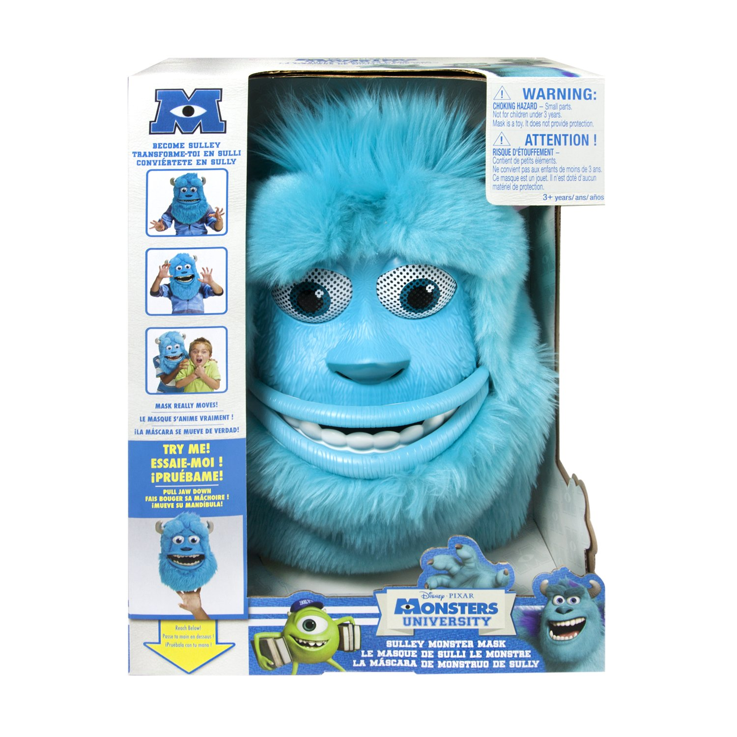 Amazon monsters university sulley monster mask toys games voltagebd Image collections