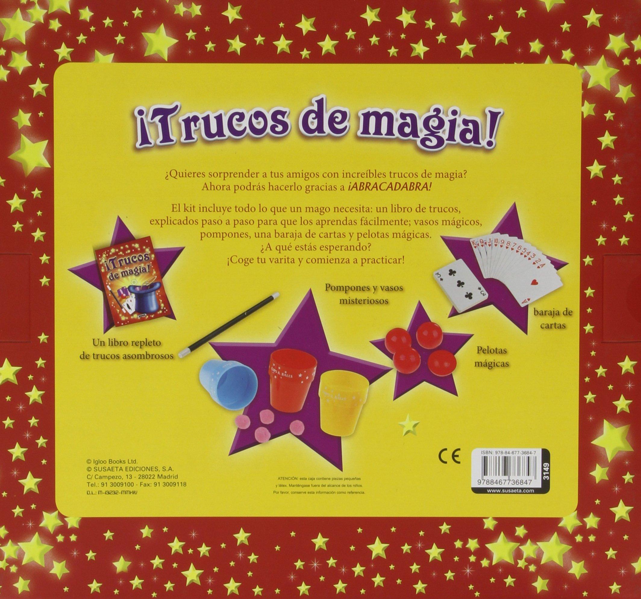 Trucos de magia: PILAR TUTOR A.: 9788467736847: Amazon.com ...