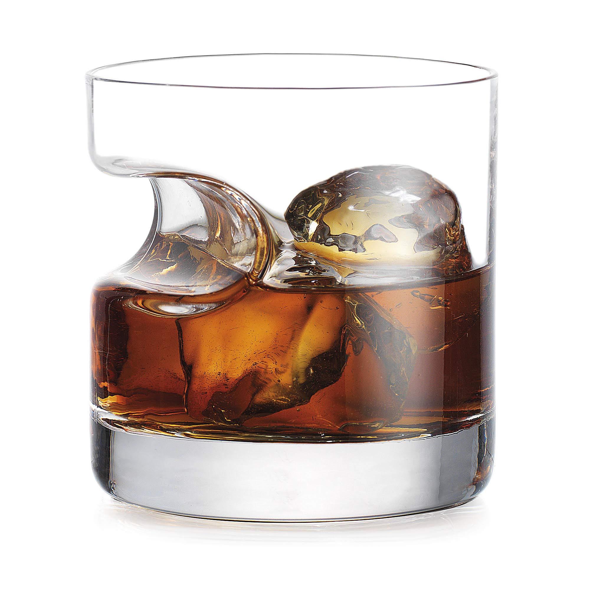 Godinger Cigar Glass - Old Fashioned Whiskey Glass With Indented Cigar Rest by Godinger (Image #2)