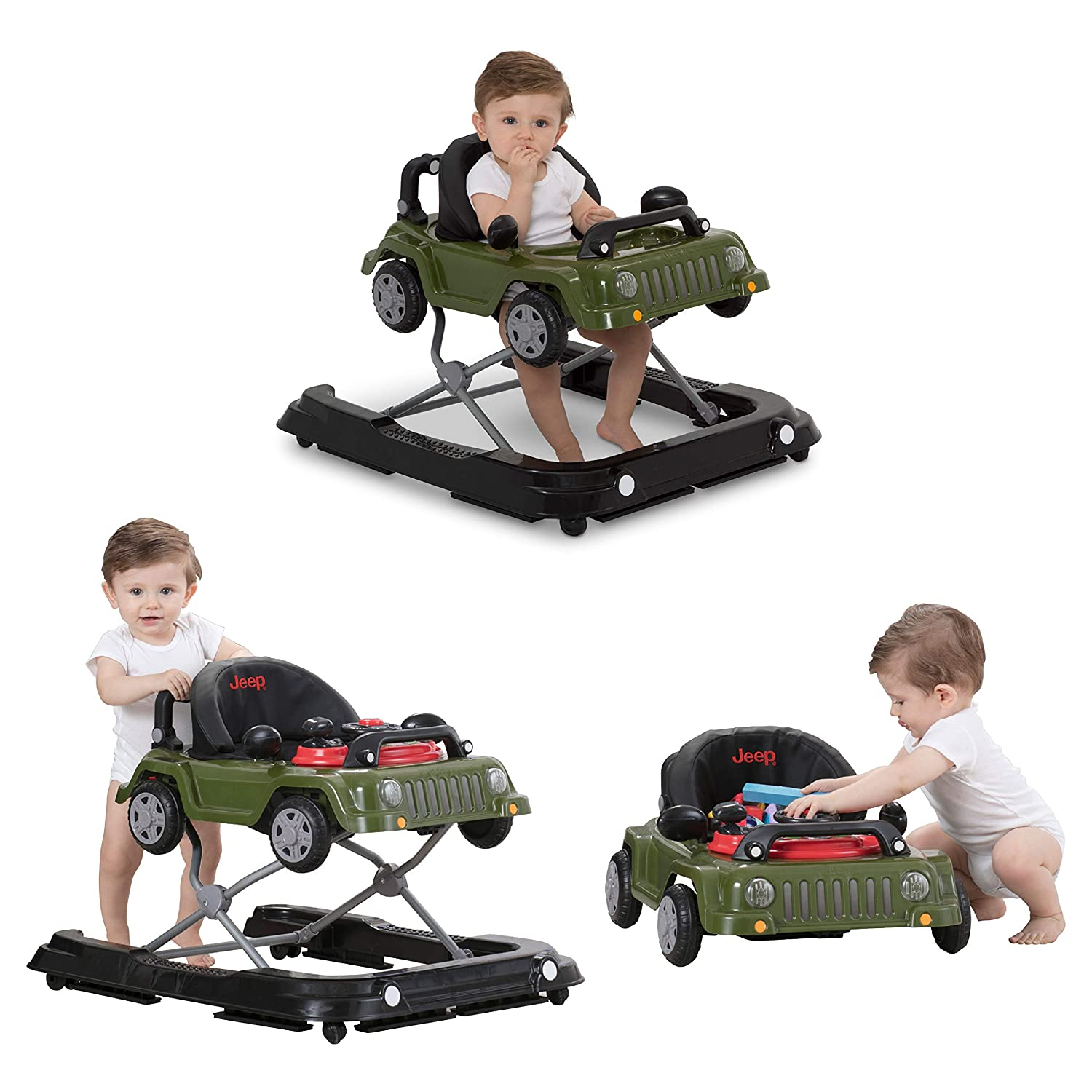 7. Jeep Wrangler 3-in-1 Grow with Me Baby Walker