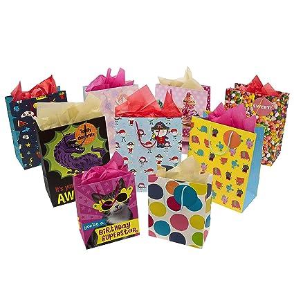 Hallmark - Bolsa de regalo para niños y paquete de pañuelos ...