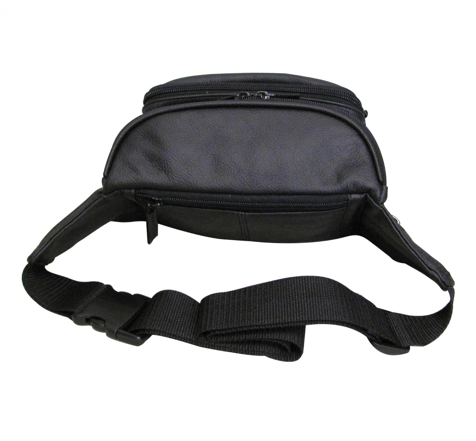 AmeriLeather Easy Traveller Fanny Pack (Lime) by Amerileather (Image #2)