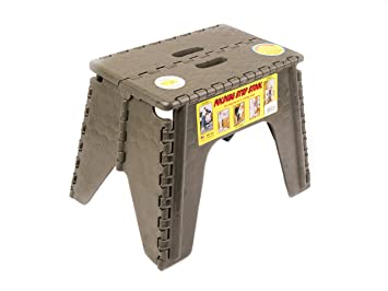 Swell Br Plastics 103 6Cfez Ez Foldz Folding Step Stool 12 Camo Onthecornerstone Fun Painted Chair Ideas Images Onthecornerstoneorg