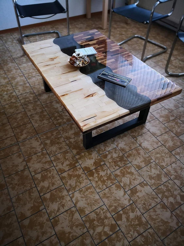 Kunstharz Tisch - Couchtisch oder für Ihr Büro: Amazon.de: Handmade