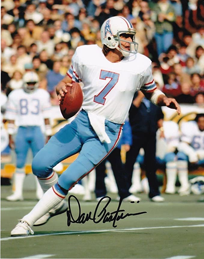 Signed Dan Pastorini Picture - 8x10 - Autographed NFL Photos at Amazon s  Sports Collectibles Store bd72210c4