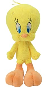 Animal Adventure 52671 Looney Tunes Tweety Bird, Soft and Collectible Plush Tweety Doll, 7