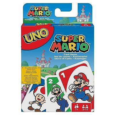 UNO: Super Mario - Card Game: Toys & Games
