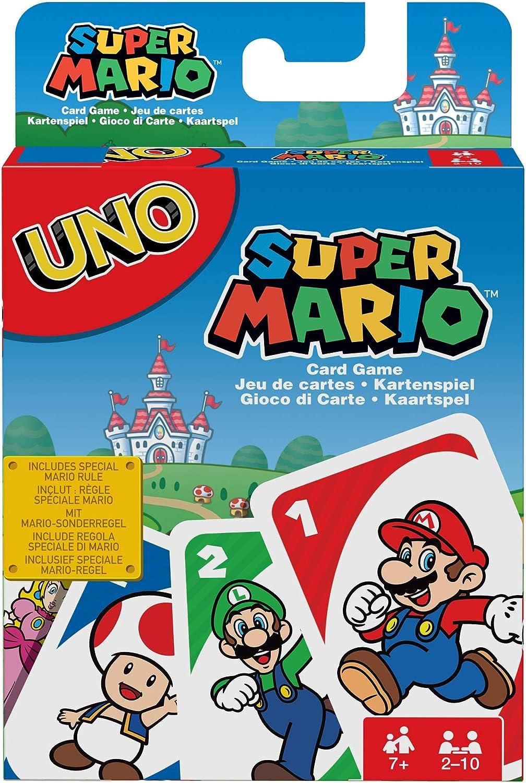 Amazon Com Uno Super Mario Toys Games
