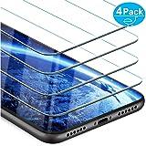 Beikell Vetro Temperato iPhone XR, [Pacco da 4] Pellicola Protettiva in Vetro Temperato per iPhone XR - Durezza 9H, Anti graffio, Senza Bolle, Alta Definizione, Facile da Pulire, Ultra Resistente