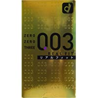 Japan Products OKAMOTO Condoms 0.03 Real Fit 10pice